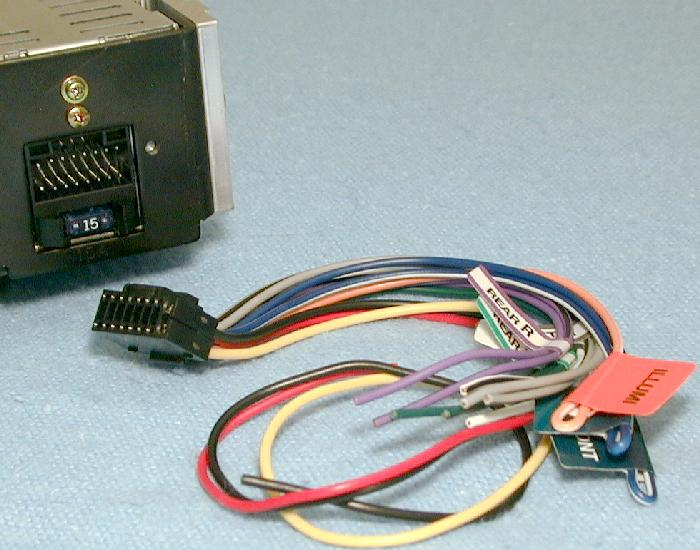 140 a RcvrHarness subaru svx receiver and speaker installation intro and toc Car Stereo Wiring Colors at bakdesigns.co