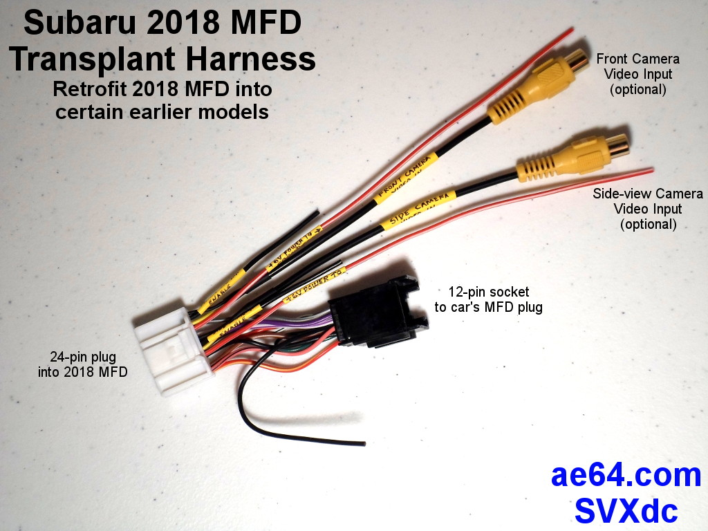 Can A 2018 Wrx Multifunction Display Be Swapped Into 2015 2017 24 Pin Wire Harness Im Going To Send This Sti Owner Whos Already Purchased Mfd He Dissected It Me Pictures Of The Pc Board
