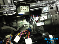 GT86/BRZ/FR-S Option Connector
