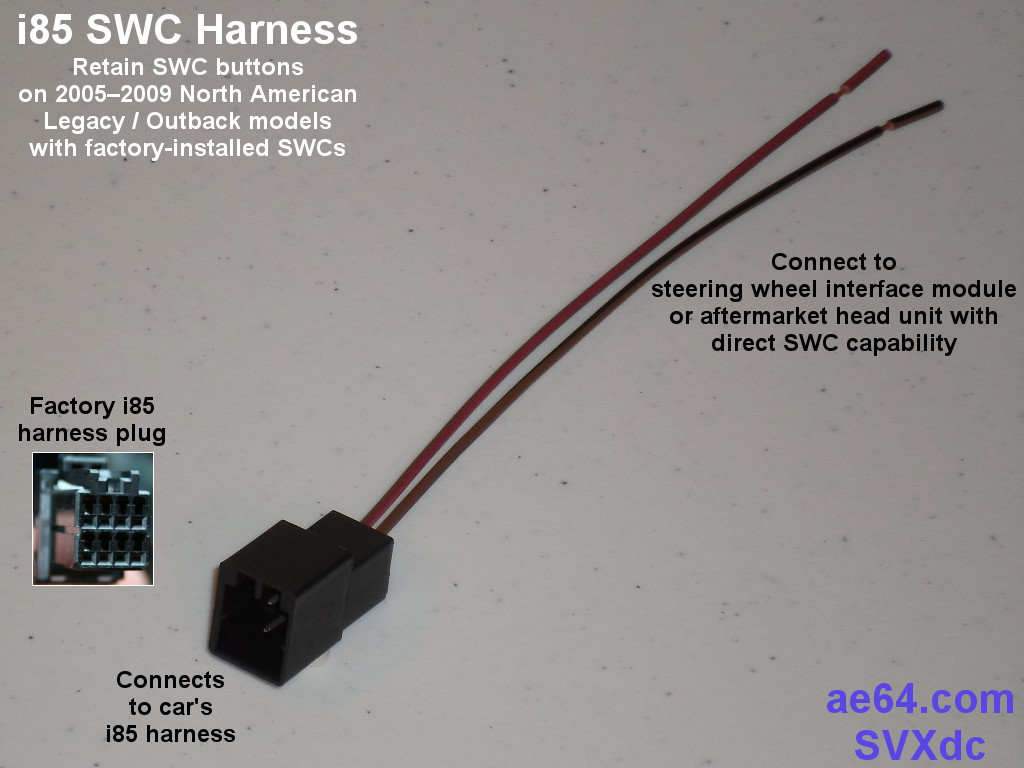 i85_SWC ae64 com subaru radio wiring harnesses products prices pioneer to subaru wiring harness at bayanpartner.co