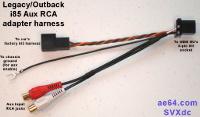 i85 transplant harness with RCA jacks