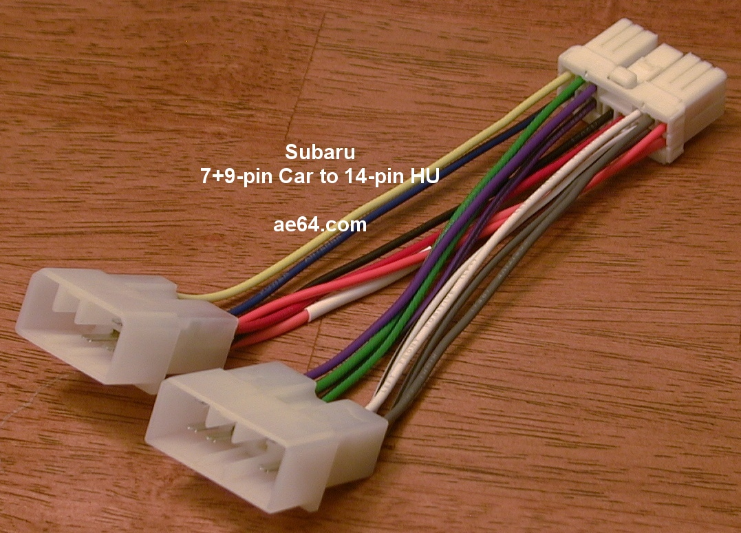 Subaru Radio Wiring Harnesses Products Prices Harness Plug And Play Adapter Connect Newer Oem Into Older