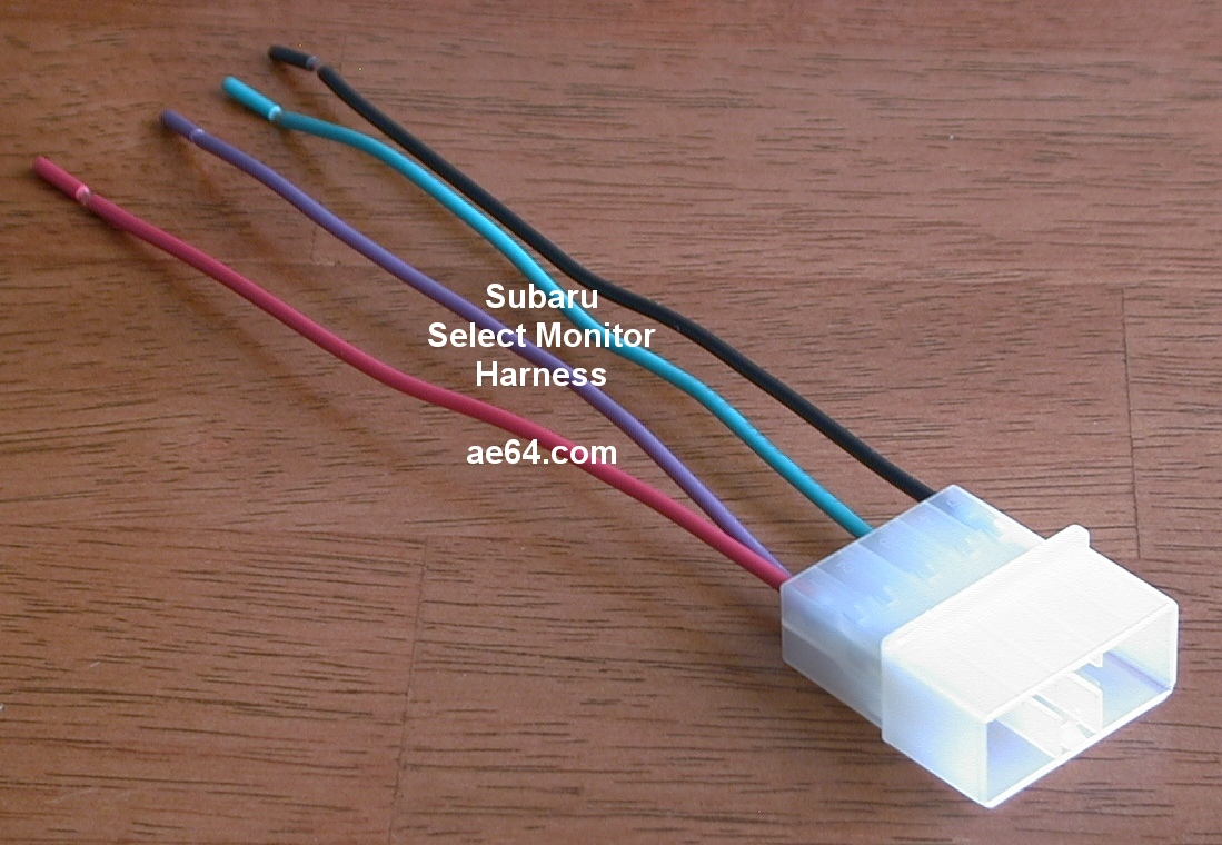 Subaru Radio Wiring Harnesses Products Prices Stereo Connectors Select Monitor 9 Pin Interface Adapter